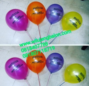 balon printing, balon print, balon sablon, balon cetak