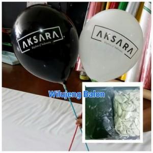 Balon Printing Logo AKSARA