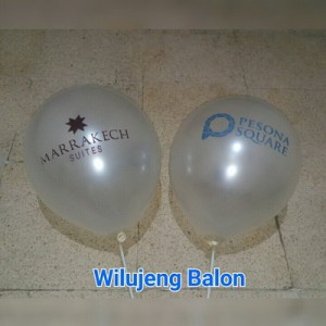 jual balon print murah dengan logo
